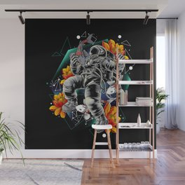 Lucky Spaceman Wall Mural