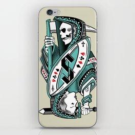Death card iPhone Skin