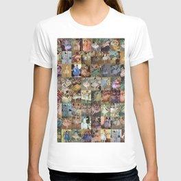 Edgar Degas Dancers Montage T-shirt