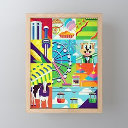 Minnesota State Fair Framed Mini Art Print