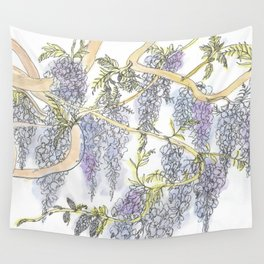Wisteria Wall Tapestry