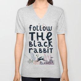 Follow The Black Rabbit Unisex V-Neck