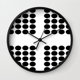 Perpendicular Wall Clock