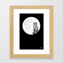 I Waited for You Framed Art Print