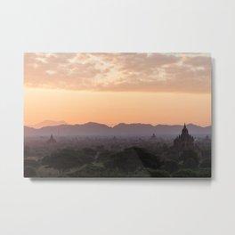 Bagan at Dawn Metal Print