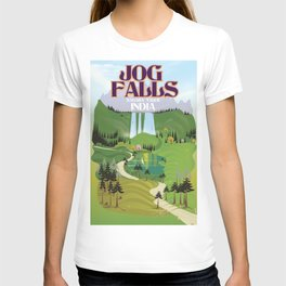 Jog Falls,Jog Falls,Sagara taluk of Karnataka T-shirt