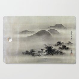 Kano Tsunenobu Temple Cutting Board