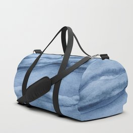 Indigo Blue Agate Pattern Duffle Bag