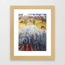 Swiss Village Framed Art Print