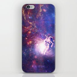 In The Center Of The Milky Way iPhone Skin