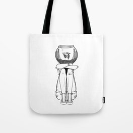 She's A Pisces Tote Bag