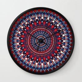 Tanya Mandala Wall Clock