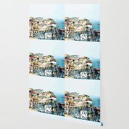 Catanzaro: view of the historic center Wallpaper