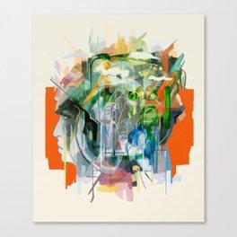 Mental Passageways Canvas Print