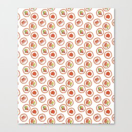 Tasty sushi Canvas Print