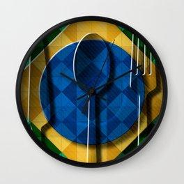 Copa & Cucina I Wall Clock