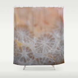 Agatized Coral Shower Curtain