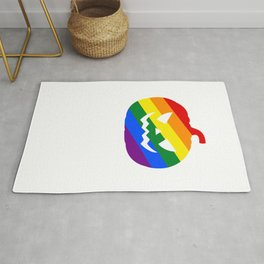 Halloween Is Gay Funny Halloween Horror Scary Rug