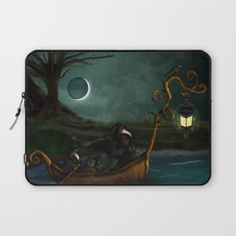 To Poveglia (The Plague Doctor) Laptop Sleeve