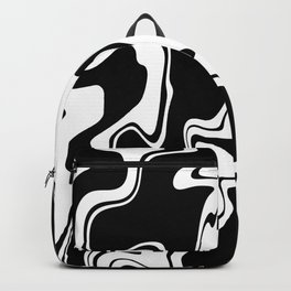 Stripes, distorted 7 Backpack