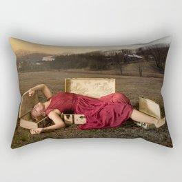 Boxes Rectangular Pillow