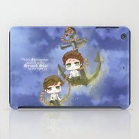larry stylinson iPad Cases featuring Larry Stylinson - Anchor and rope by Yorlenisama