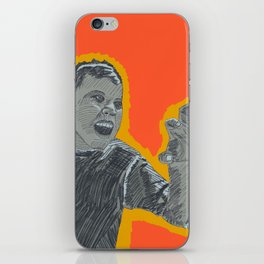 The right amount of rage iPhone Skin