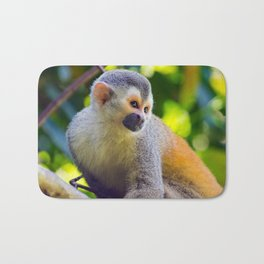 Squirrel monkey - Costa Rica Bath Mat
