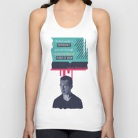kerouac Tank Tops featuring ... Best Teacher | Jack Kerouac by PhraseCrowd