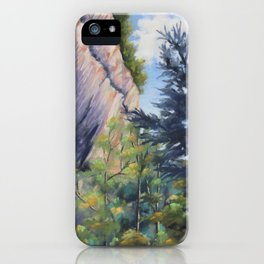 Aux portes de la grotte iPhone Case
