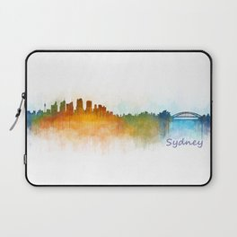 Sydney City Skyline Hq v3 Laptop Sleeve