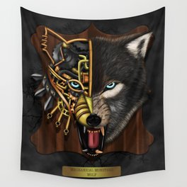 Mechanical Monsters revisited: Wolf Wall Tapestry