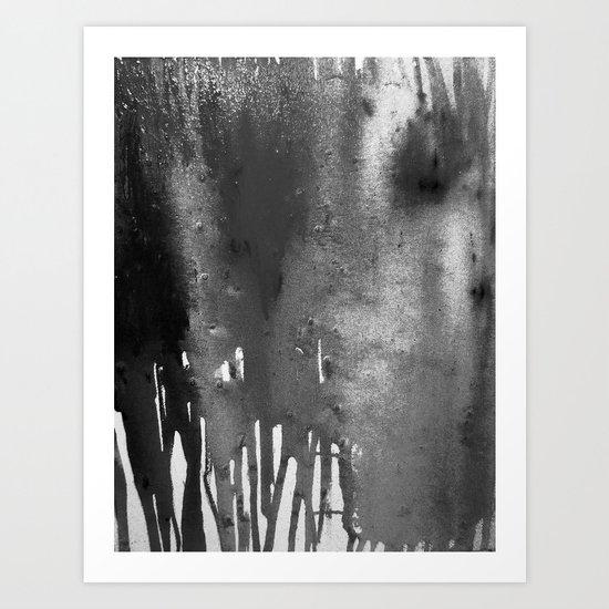 Bleach B&W Art Print