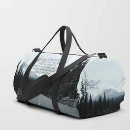 Quote for The Road Duffle Bag