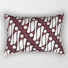 the parang batik pattern Rectangular Pillow