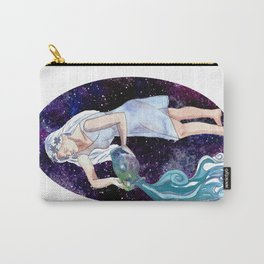 Aquarius the Water Bearer Carry-All Pouch