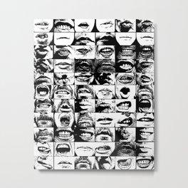 Oral Fixation 2 Metal Print