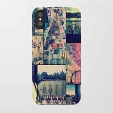 London Collage Slim Case iPhone X