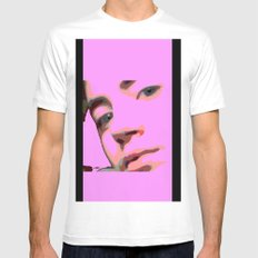 Geisha  Mens Fitted Tee White MEDIUM