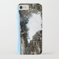 puerto rico iPhone & iPod Cases featuring Pozo de Jacinto, Isabela Puerto Rico by Silmagerie