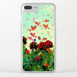 Love Glade Clear iPhone Case