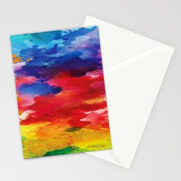 Watercolor Summer Stationery Cards