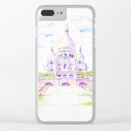 Sacre-Coeur Clear iPhone Case