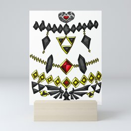 LOZ Design #6 - Black Gems of Hyrule Mini Art Print