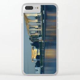 Kanzleramt Berlin Clear iPhone Case