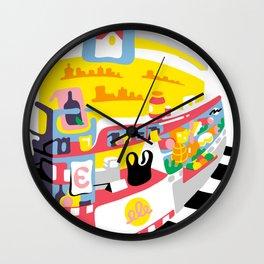 Bodega Mirror 1 Wall Clock
