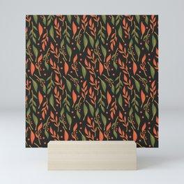 Vintage Floral Pattern 011 Mini Art Print