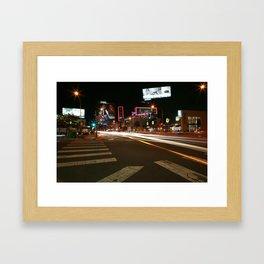Sunset Blvd LA Framed Art Print