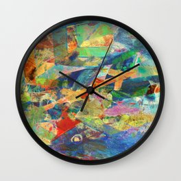Tuna Fishing Wall Clock