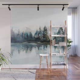 Winter Morning Wall Mural